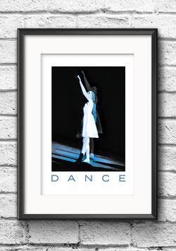 """Poster """"Dance Bleu"""""""