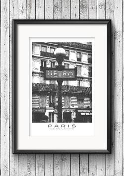 """Poster """"Île de la Cité No.2"""" - Paris"""