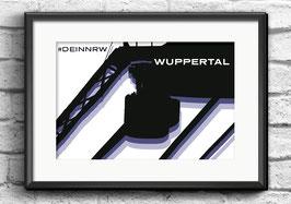 "Poster ""Wuppertal"" | #DEINNRW"