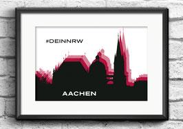"Poster ""Aachen"" | #DEINNRW"