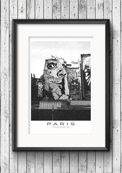 """Poster """"Marais No. 2"""" - Paris"""
