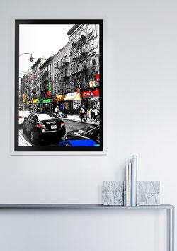 """Poster New York """"Chinatown"""" - USA"""