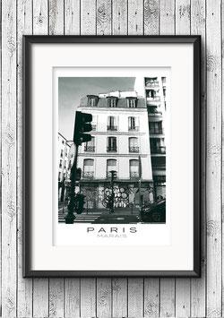 """Poster """"Marais No. 1"""" - Paris"""