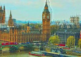 "Leinwand ""Big Ben Westminster"" - London"