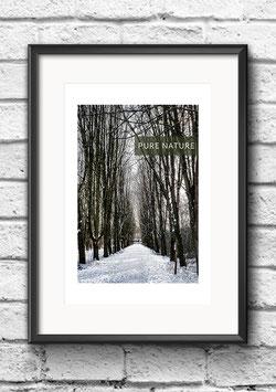 "Poster ""Pure Nature | THREE"""