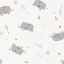 Elephant Party - Single Gauze - Cloud9