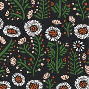 Dancing Petals - Katoen - Birch