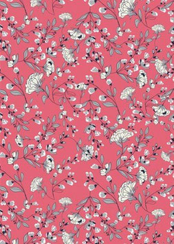 Anjer, roze - Jersey - Fabrilogy