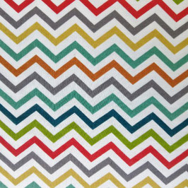 Skinny Chevron - Double Gauze - Birch