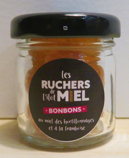 bonbons miel & framboise 25g