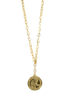 GOLDEN BIG CHAIN AMERICAN COIN