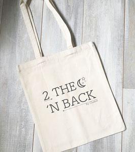 Canvas bag 2 THE MOON 'N BACK