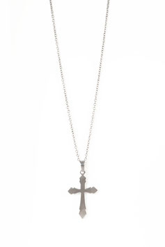 SILVER BIG CROSS
