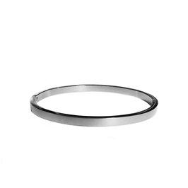 Silver basic bangle