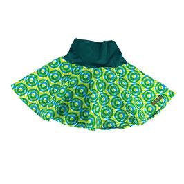 Falda Vuelo Redondas Verdes