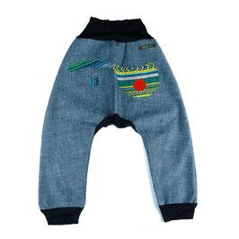 Pantalón Turco Jeans Étnico