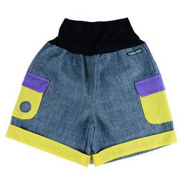 Bermudas Jeans Amarillo