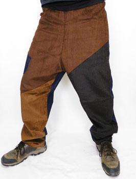 Pantalón Patch Marrones
