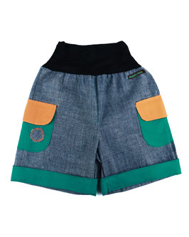 Bermudas Jeans Verde