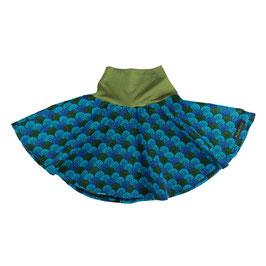 Falda Vuelo Paraguas azul