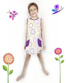 Vestido Macu Mandala Lila