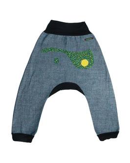 Pantalón Turco Jeans Rodones verde