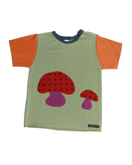 Camiseta Malula Lunares Roja