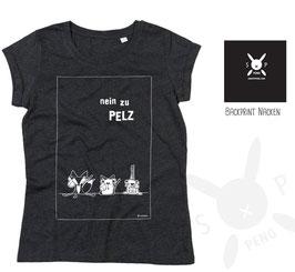 Shirt Nein zu Pelz