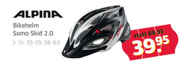 "Alpina Bikehelm ""Somo Skid 2.0"""