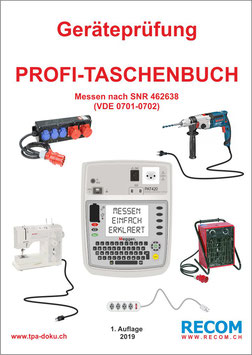 Geräteprüfung Profi-Taschenbuch PAT 4xx