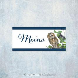 Etikette: Meins / Eule