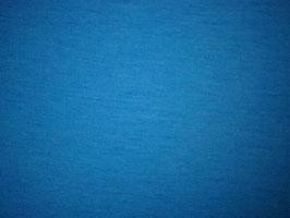 Merino Jersey: Blau