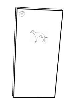 Krallen Kratzbrett für Hunde