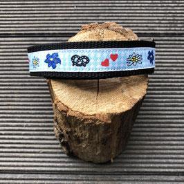 """Hundehalsband """"blau-weiß NEU"""""""