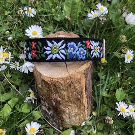 "Hundehalsband ""Alpenblumen 2"""