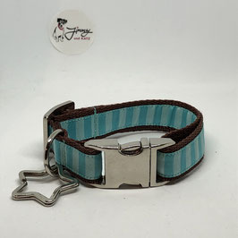 "Hundehalsband ""Muster mint"" Sale"