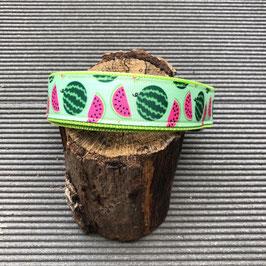 "Hundehalsband ""Wassermelone lime"" NEU"