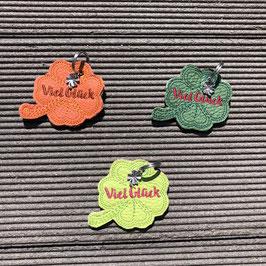 Kleeblatt-Schlüsselanhänger fürs Frauli