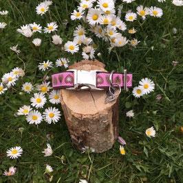 "Hundehalsband ""Alpenliebe pink"""