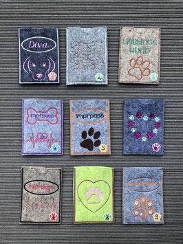 EU Impfpass-/Reisepasshüllen für unsere Doggys NEU ♥♥♥