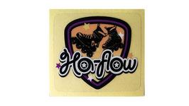 Ha-flow ステッカー(エンブレム風)2枚1組