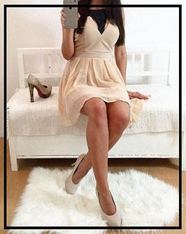 Kleid *NudeBiker* aus leichtem Stoff