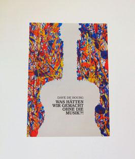 Poster A3 + Aufkleber