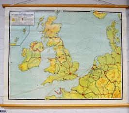 schoolkaart britse eilanden