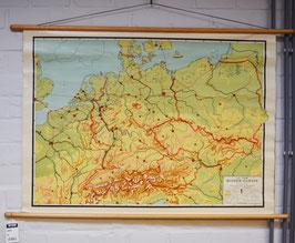 schoolkaart midden-europa