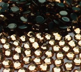 Strasssteine Starlight DeLuxe 8+8 SS16 Hotfix 1440 Stück Champagner
