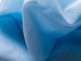 Netzstoff Avatar Extra Hellblau bi-elastisch