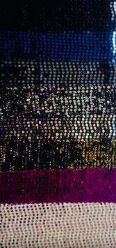 Lycra Disco Königsblau mit Pailletten