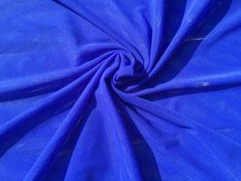 Netzstoff Königsblau bi-elastisch