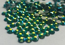 Strasssteine Starlight DeLuxe 8+8 SS16 Hotfix 1440 Stück Emerald AB